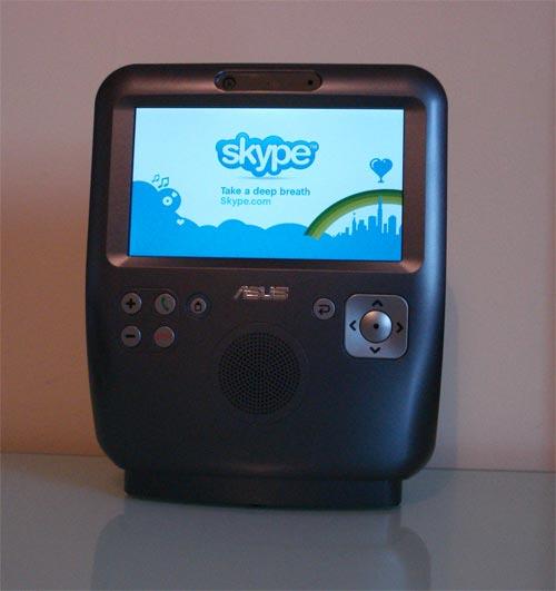Asus AiGuru SV1 Skypephone videophone!
