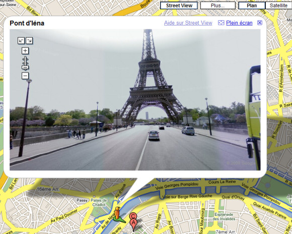 Noticias da Internet e Mercados Google-street-view-paris